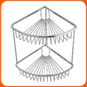 Wire Work Double Corner Basket