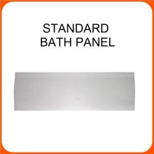 K-VIT 1800MM STANDARD BATH PANEL - WHITE