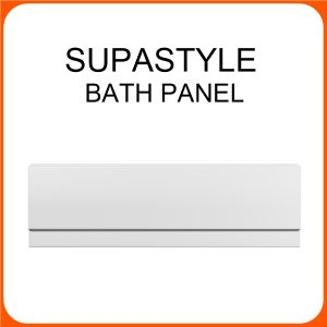 SUPASTYLE 1700MM FRONT PANEL WHITE