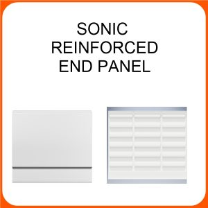 SONIC REINFORCED END PANEL 800MM