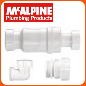 SELF CLOSING WASTE VALVE