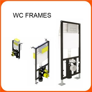 WALL HUNG WC FRAMES