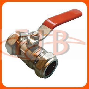 LEVER VALVES RED HANDLE